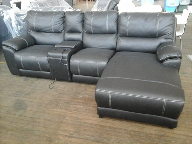 Lot 21 Kalama Lounge Suite 2 Seater Theatre Electric Recliner with Chaise Black Includes Electrics (Missing Cup Holders) [93500+2] & Kalama Lounge Suite 2 Seater Theatre Electric Recliner with ... islam-shia.org