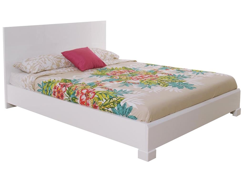 Queen Bed Barrie 9511e Queen Bed White High Gloss Mattress Not Included 2 Cartons Barrie