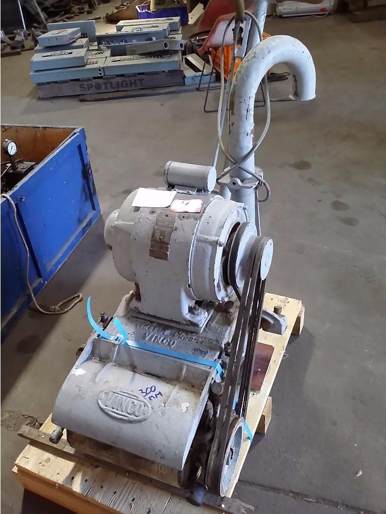 Vinco Floor Sander Walkbehind 300 Mm 2 Hp Electric Motor