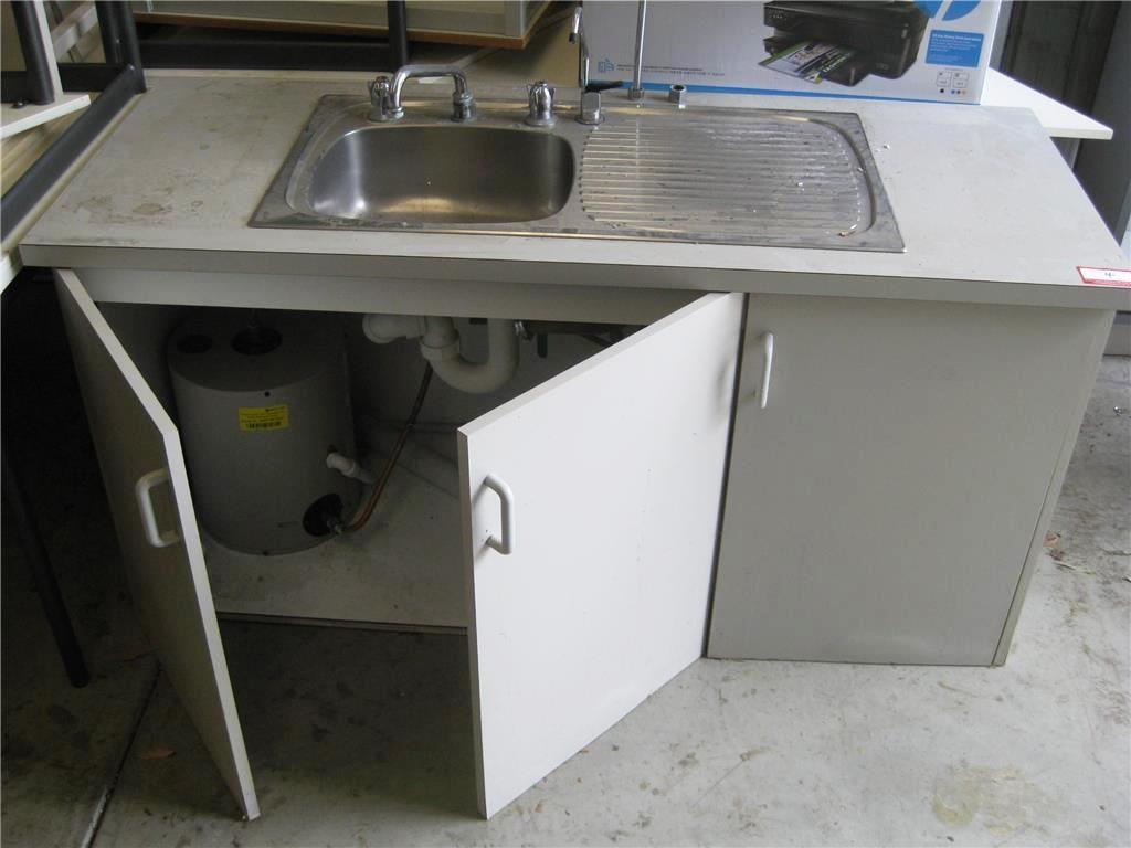 Kitchen Cabinet With Sink 3 Door With Beasley Undercounter Hot