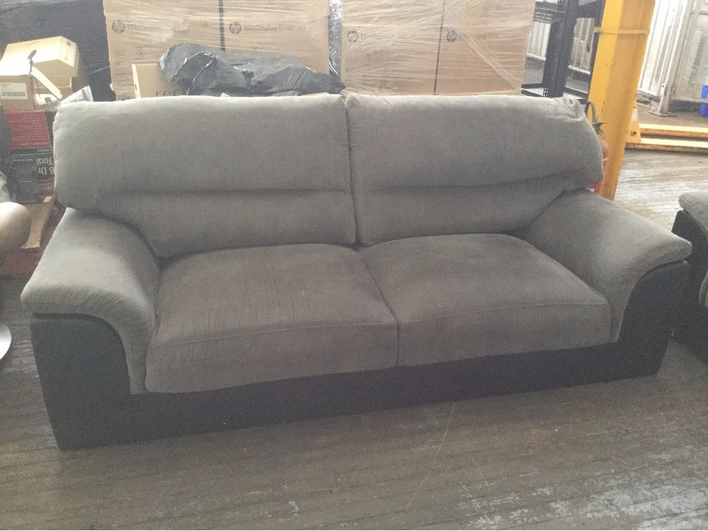 Fantastic Furniture Benson 3 Seater Settees Quantity 2 Sold As Is
