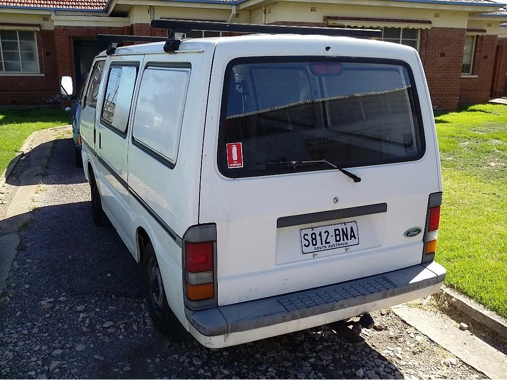 Ford Econovan Van Year 1998 -Unleaded-Manual-216, 708 Kilometers Showing  -Registration Number S 812-B Na -Un Registered- VIN Number  Jc0aaasgmewj34280-Mass ...