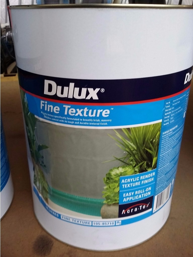 Dulux Textured Paint Coverage Dulux 10L Texture Full Cover