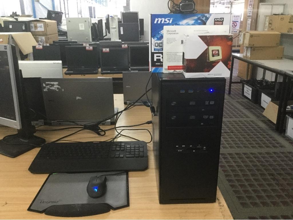 Tower PC, Custom Built Gaming, AMD FX-4130 Quad-Core