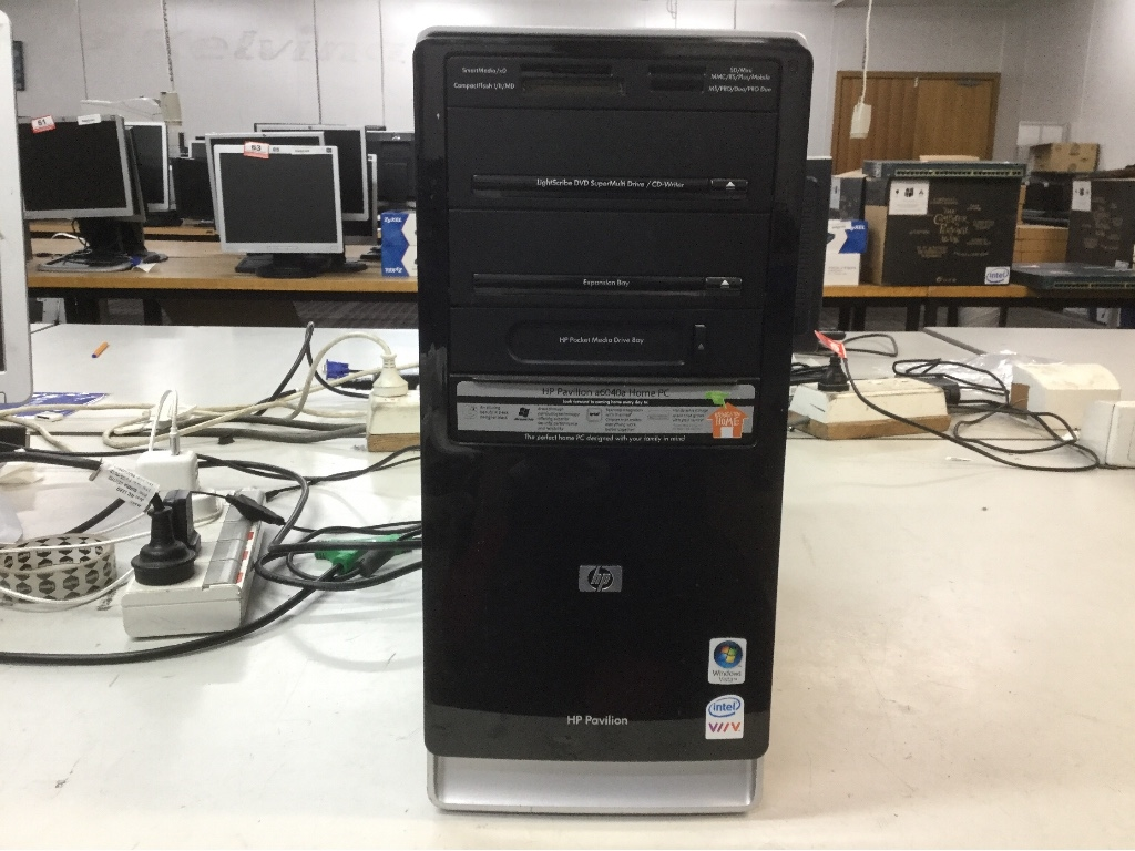 Tower Desktop Pc Hp Pavilion A6040a Intel Pentium D Processor 935 Kabel Power Komputer Cpu 1gb Ram No Hdd Win Vistaverification Reqwith Keyboard And Mouse Cable