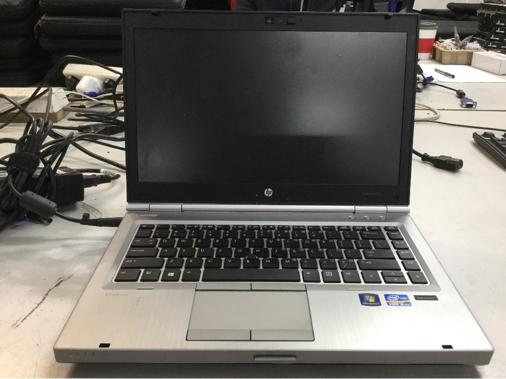 Laptop PC, HP EliteBook 8470P, I5 Processor, Win7 Sticker