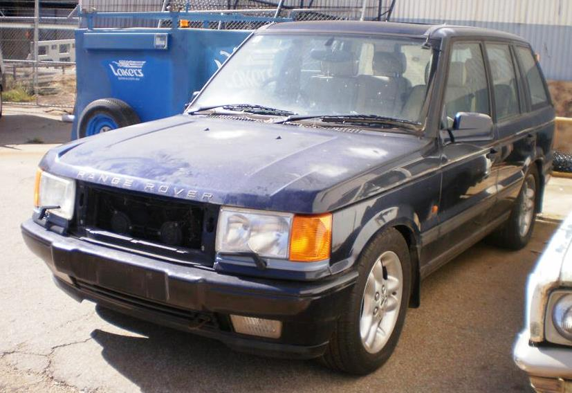 1998 Land Rover Range Rover, 4 6 HSE, 4 Speed Automatic