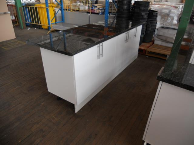 Kitchen Suite - Straigh Line with Kitchen Island, Overall ...
