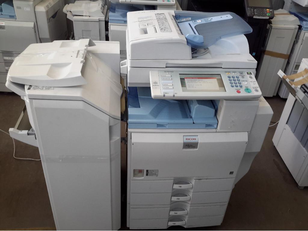 Photocopier, Ricoh Aficio MP 4000, Shows
