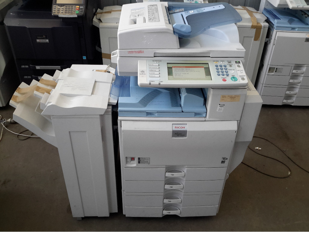 Photocopier, Ricoh Aficio MP 4000, Shows