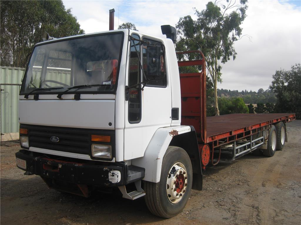 Ford Cargo 1621 Tray Top Truck, 30457 Kms Indicated ...