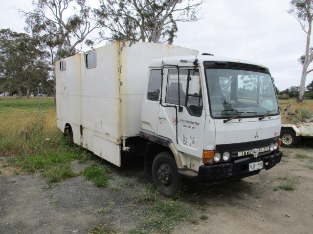 Mitsubishi Service Truck -Fk 417--352,577 Kilometres- Showing -Turbo