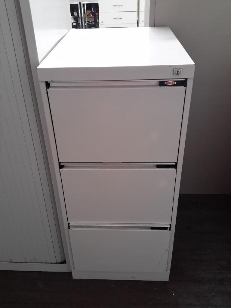 & 3 Drawer Filing Cabinet Namco