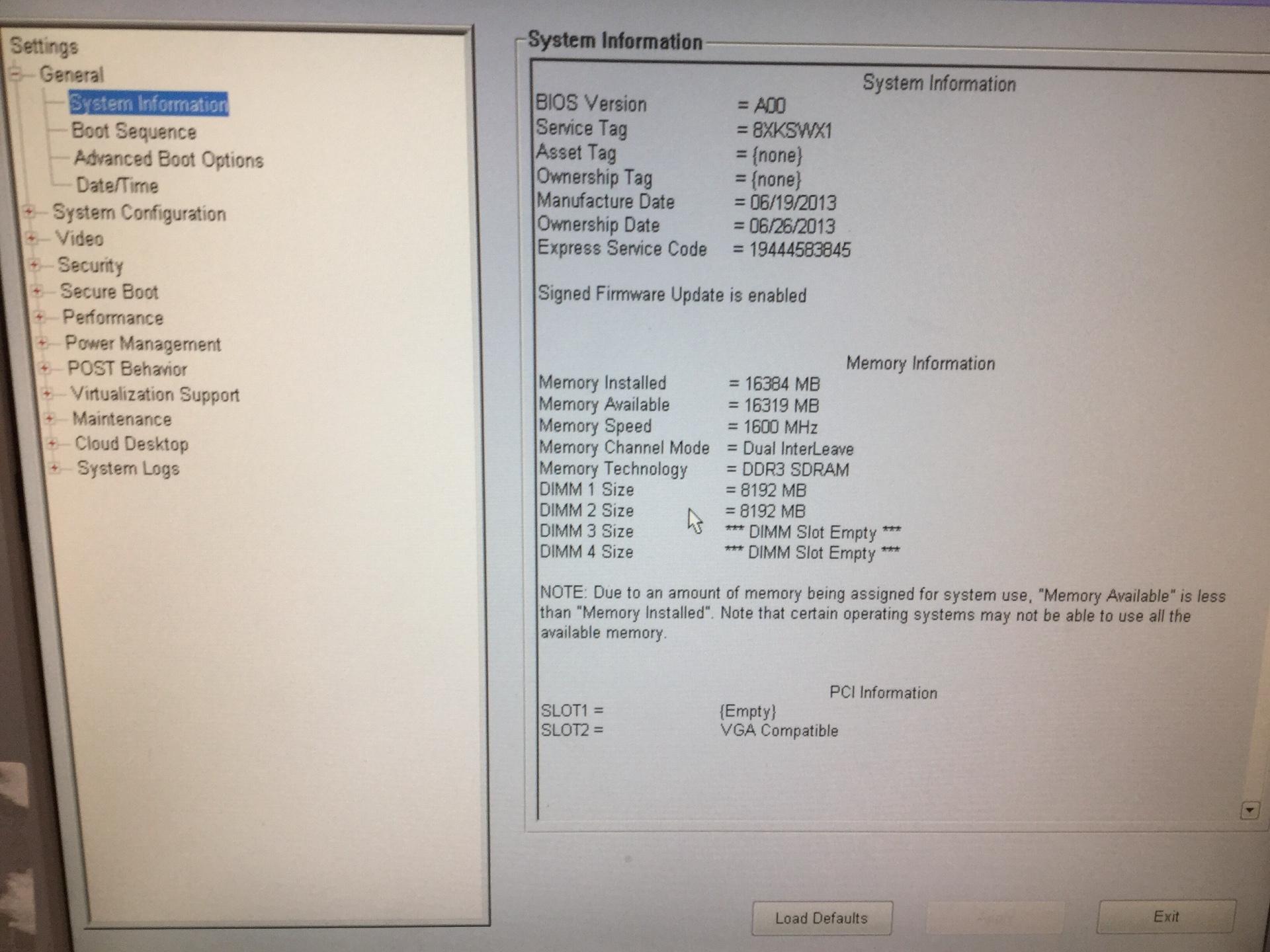 Desktop, Dell Optiplex 9020, Appears to Function
