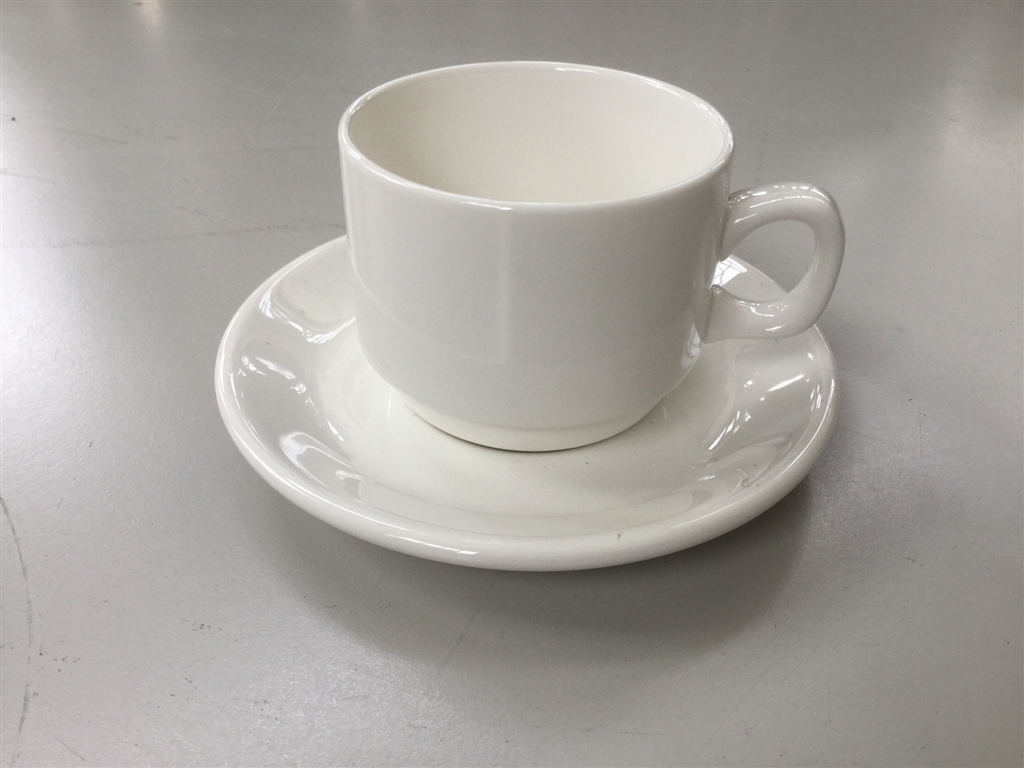 Tea/Coffee Cup with Saucer, Dudson Fine China, Quantity of 2 Boxes ...