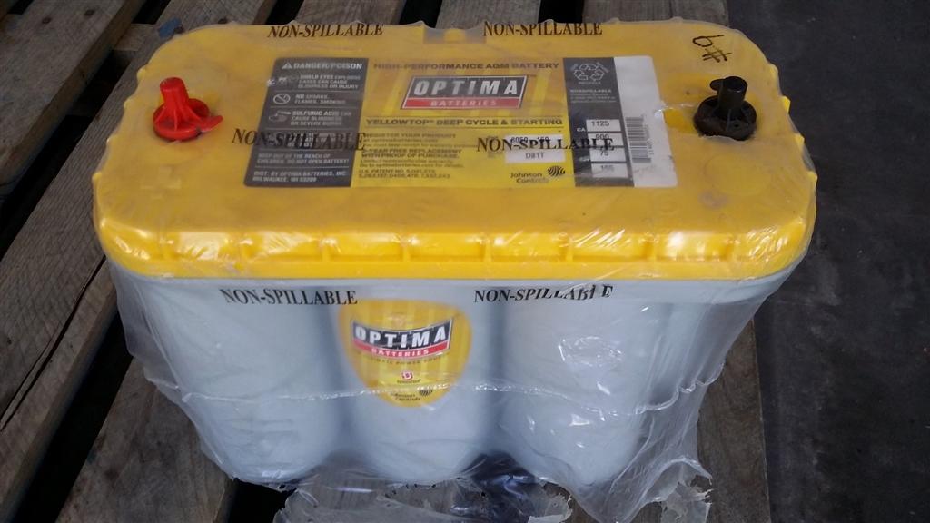 Agm Hi Performance - Battery -12 Volt - Non Spill-75 A H