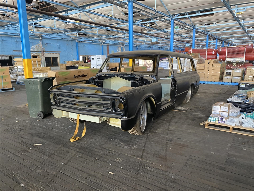 1968 Chevrolet Suburban Chassis And Body