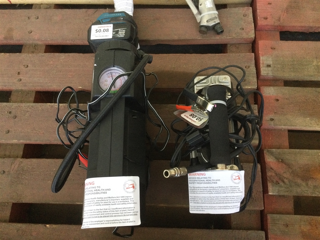 Pallet of Goods Inc: Assorted Power Tools, Air Compressors