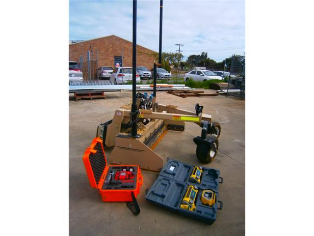 Laser Grading Box Skid Steer Attachment Model Ati Pl 72d