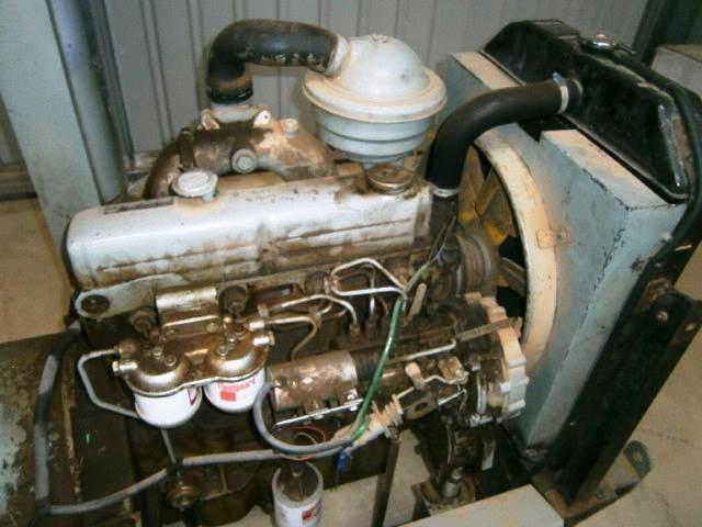 Generator Stamford 35 Kva Model C 24 48 Powered By