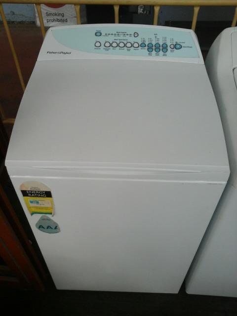 Washing Machine, Top Loader, Fisher & Paykel, Model: Gw512, 6 0Kg