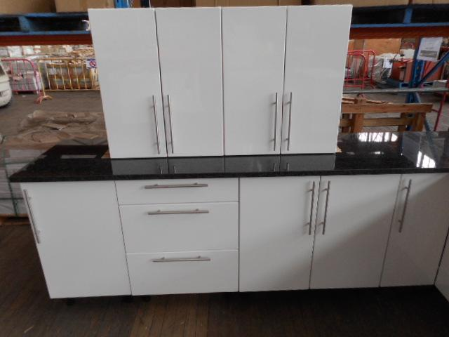 Kitchen suite new l shape length 2780mm x width for Kitchen cabinets 500mm depth